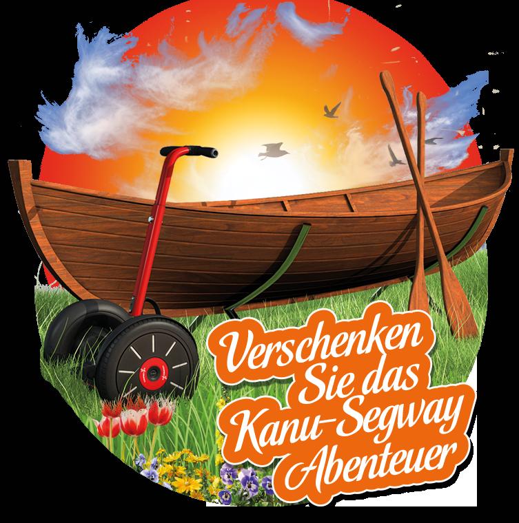 Kanu Segway Touren in Halle Saale
